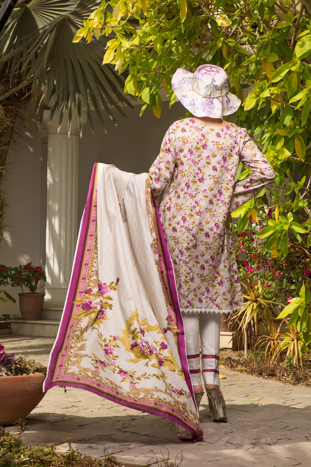Unstitched Two Piece Shirt & Dupatta SSL-192-08B