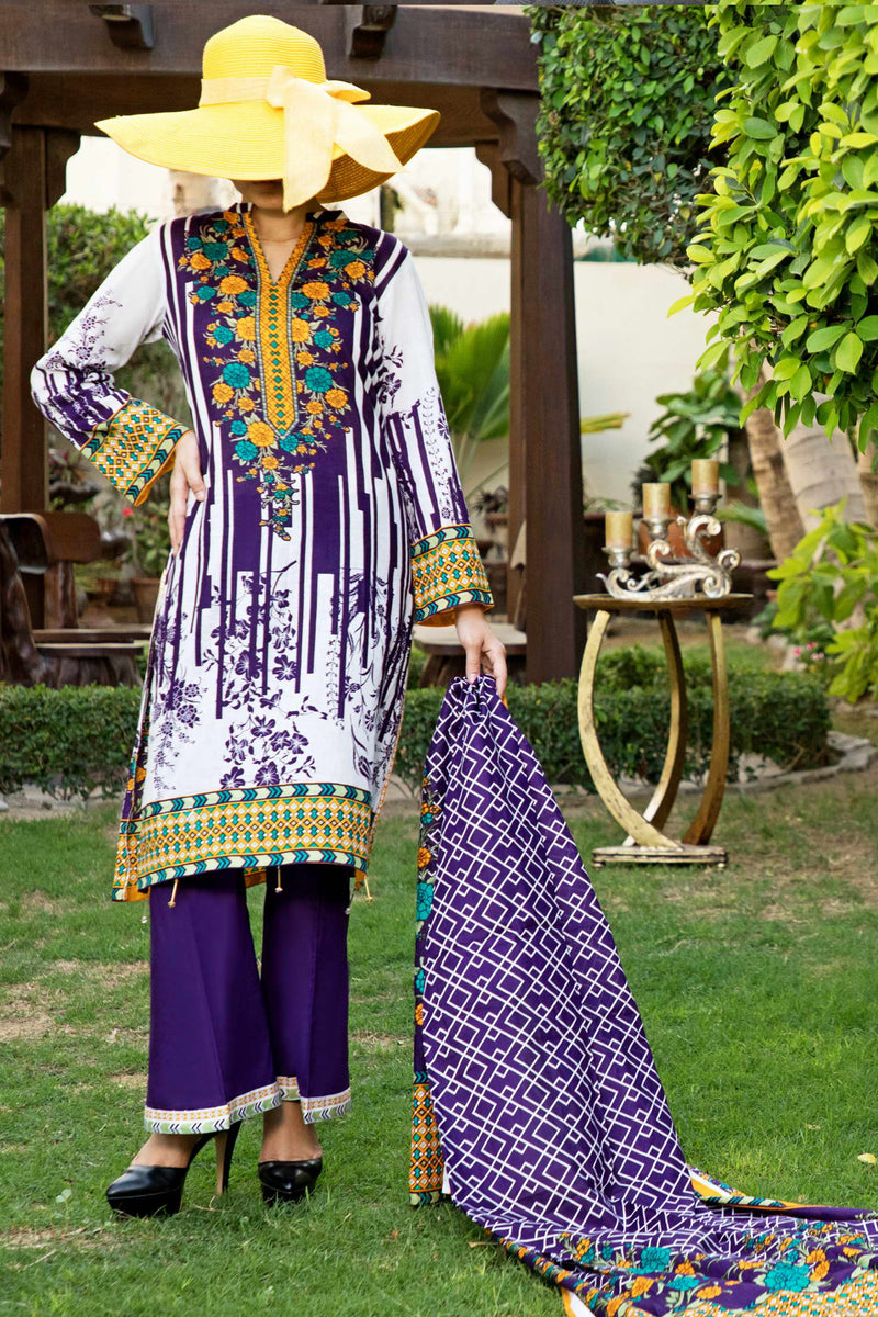 Daman Lawn Collection 19-208B