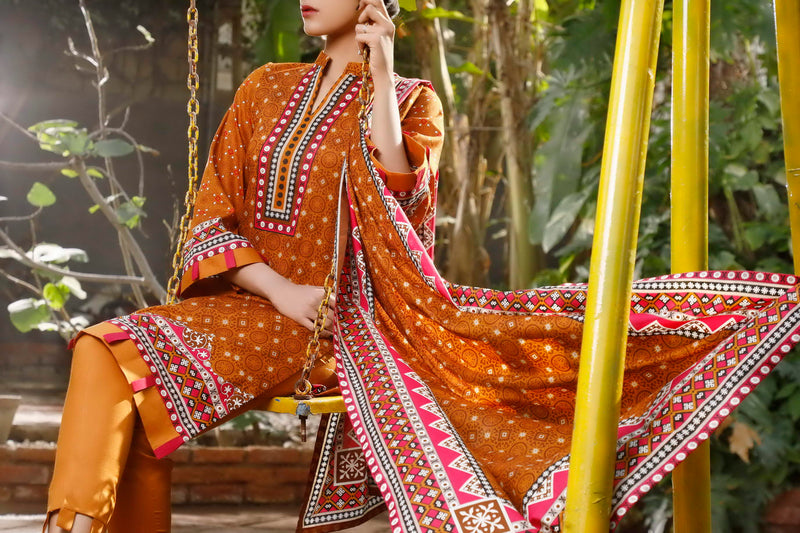 Daman Printed Lawn Collection 21-1311A
