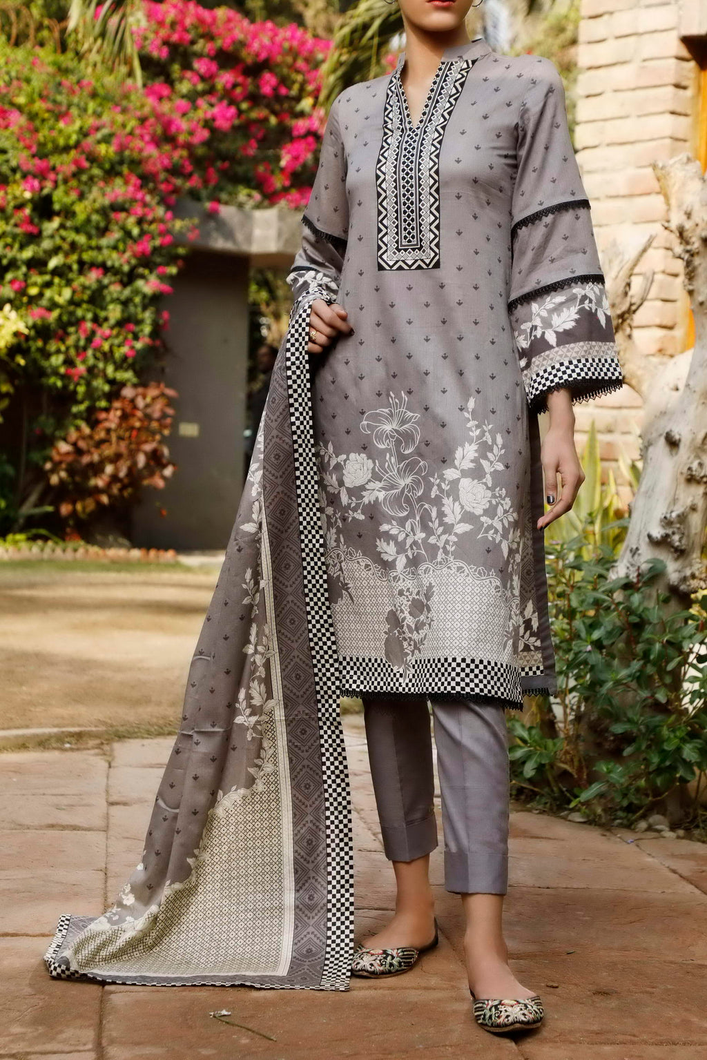 Daman Printed Lawn Collection 21-1303B