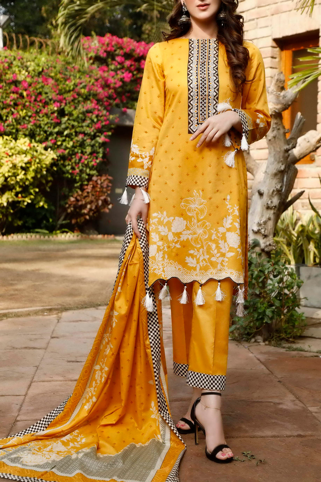 Daman Printed Lawn Collection 21-1303A