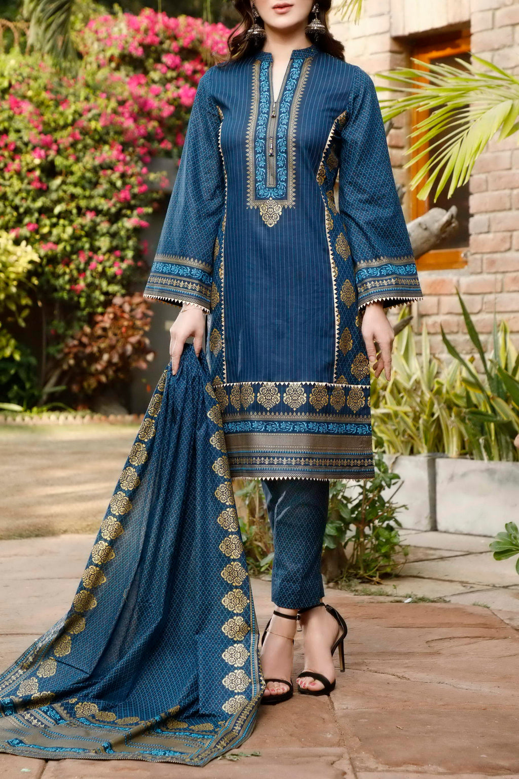 Daman Printed Lawn Collection 21-1313B