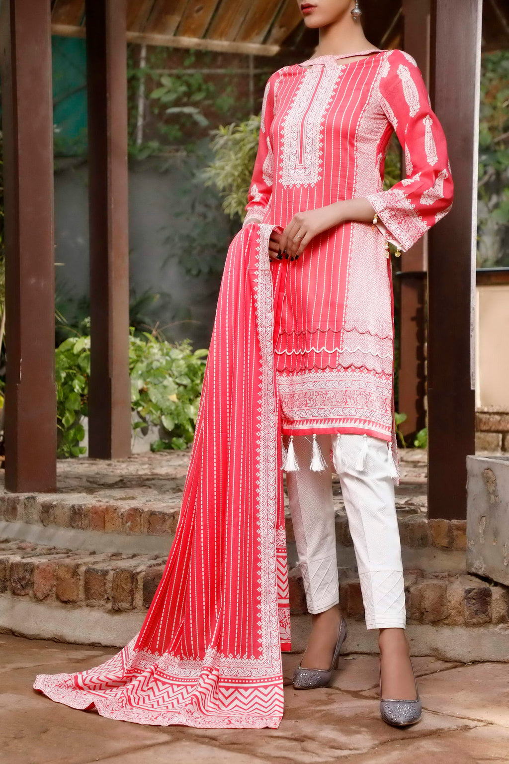 Daman Printed Lawn Collection 21-1304D