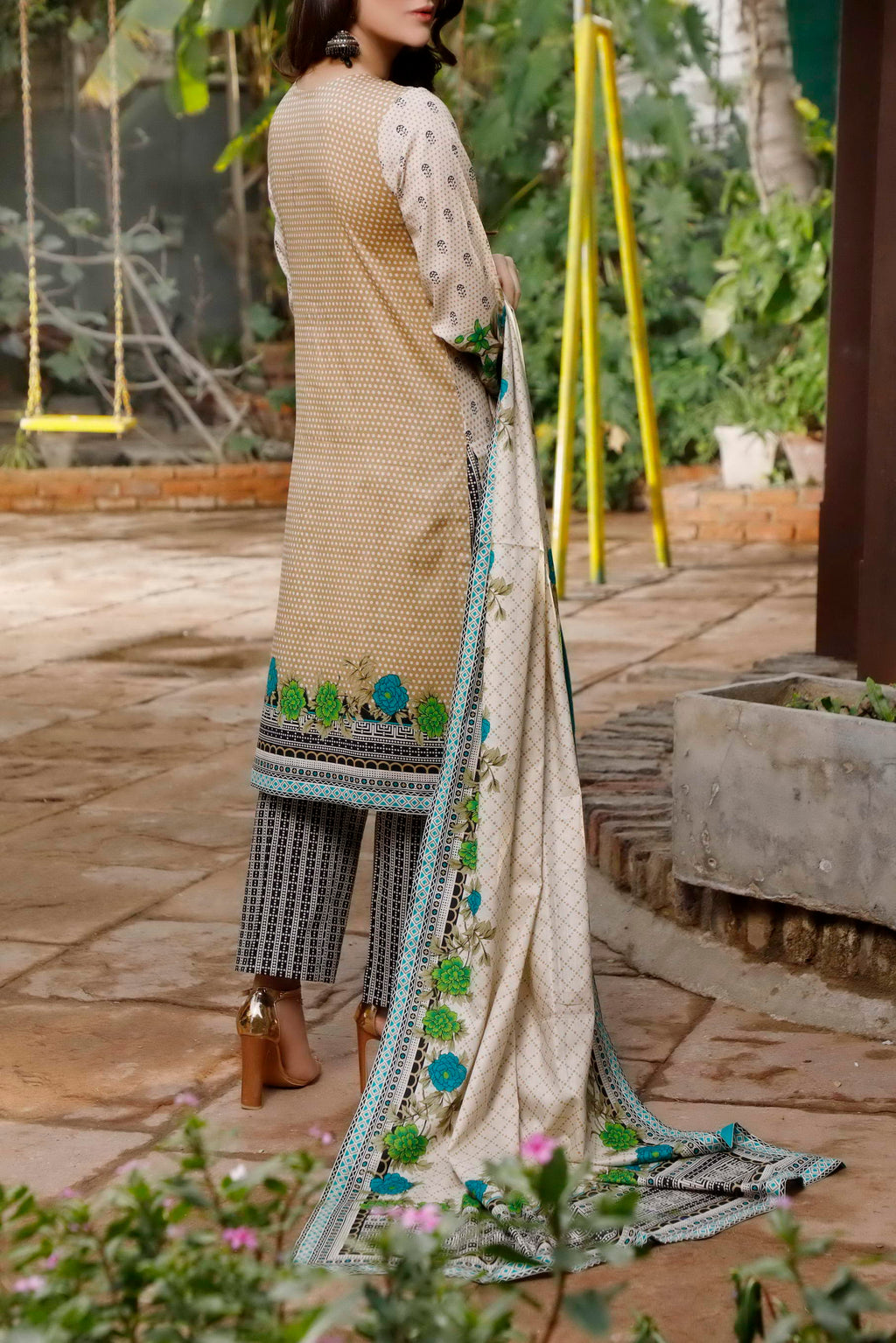 Daman Printed Lawn Collection 21-1310B