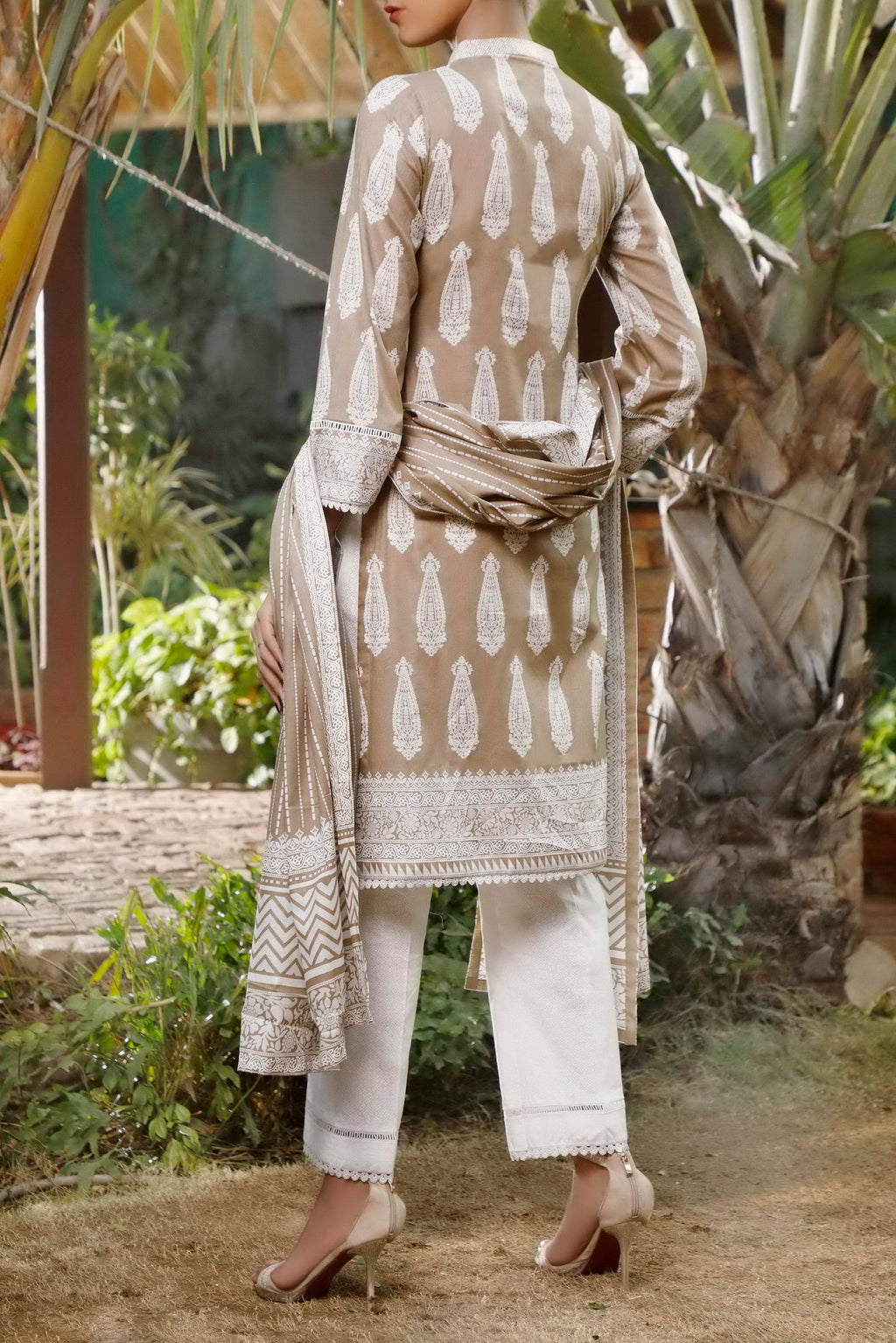 Daman Printed Lawn Collection 21-1304C