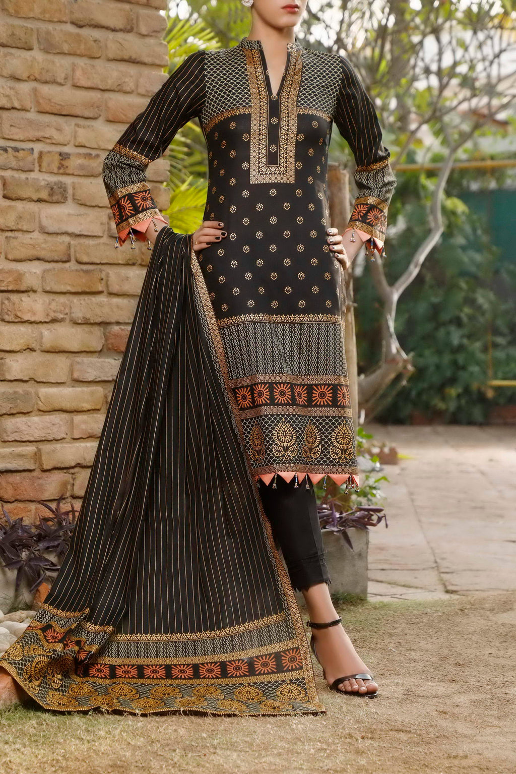 Daman Printed Lawn Collection 21-1307A