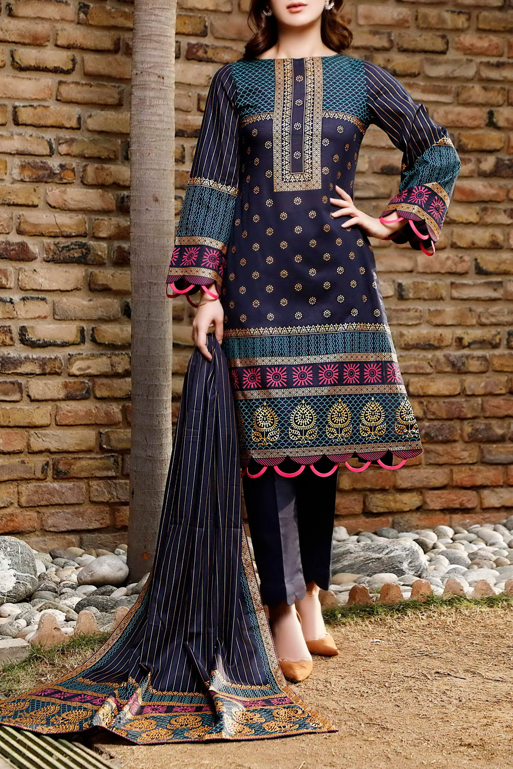 Daman Printed Lawn Collection 21-1307B