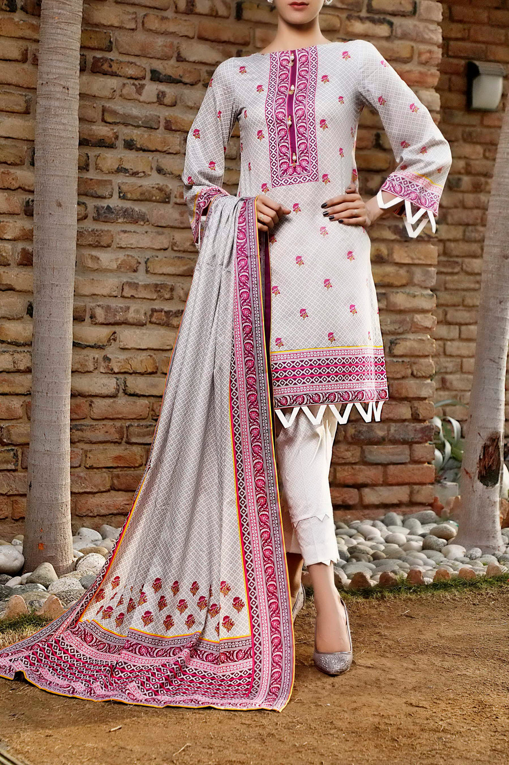 Daman Printed Lawn Collection 21-1314B