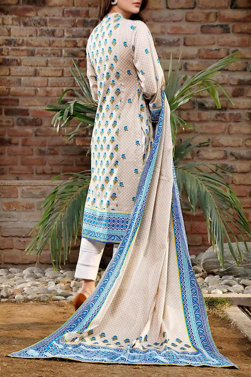 Daman Printed Lawn Collection 21-1314A