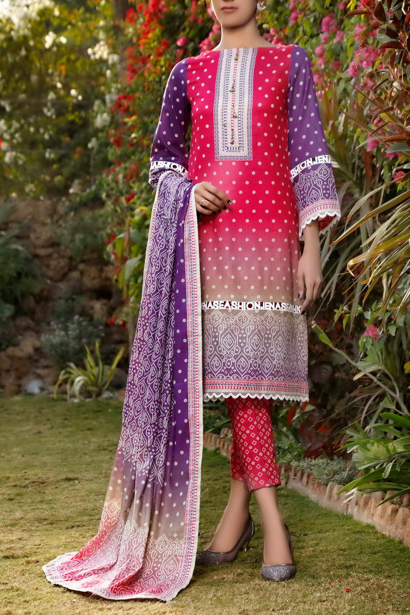 Daman Printed Lawn Collection 21-1306A