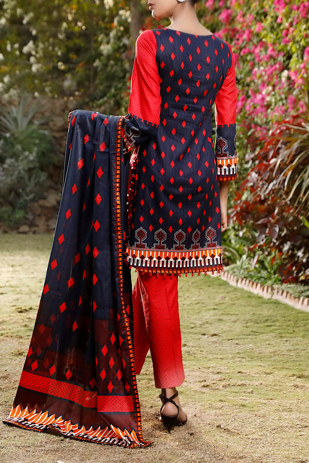 Daman Printed Lawn Collection 21-1305A