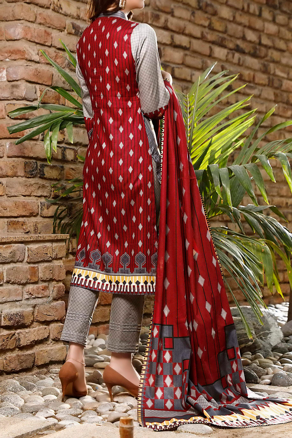 Daman Printed Lawn Collection 21-1305B