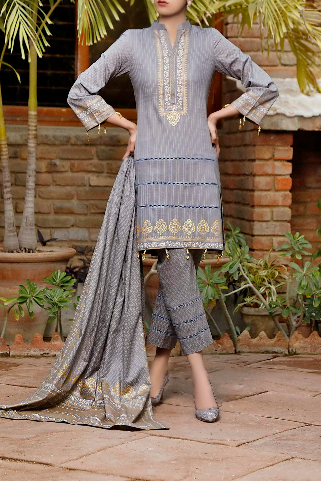 Daman Printed Lawn Collection 21-1313C