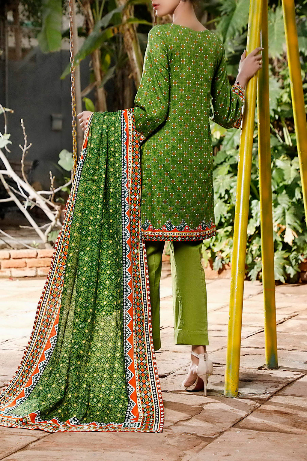 Daman Printed Lawn Collection 21-1311B