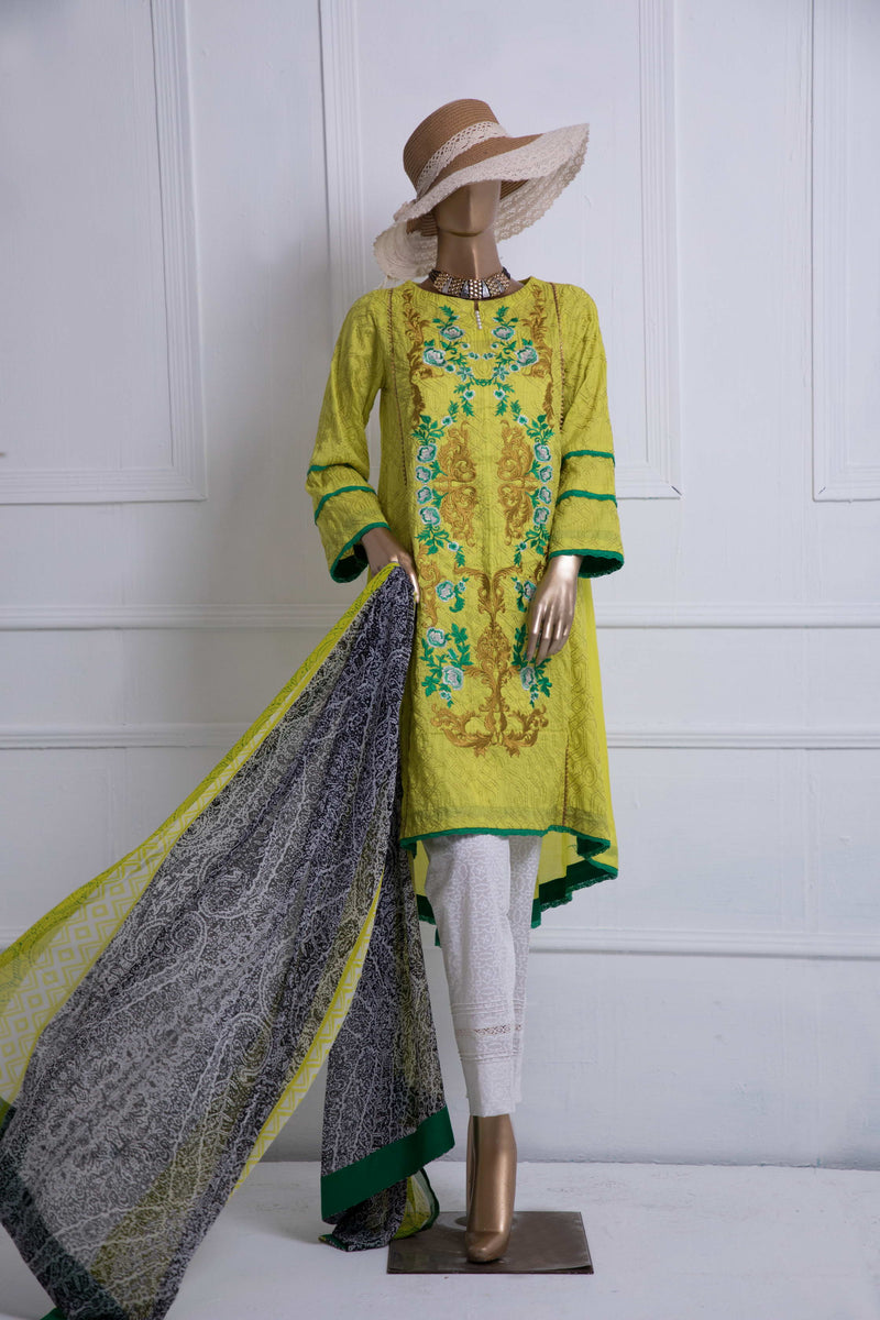 Exclusive Casual Lawn Yellow-01
