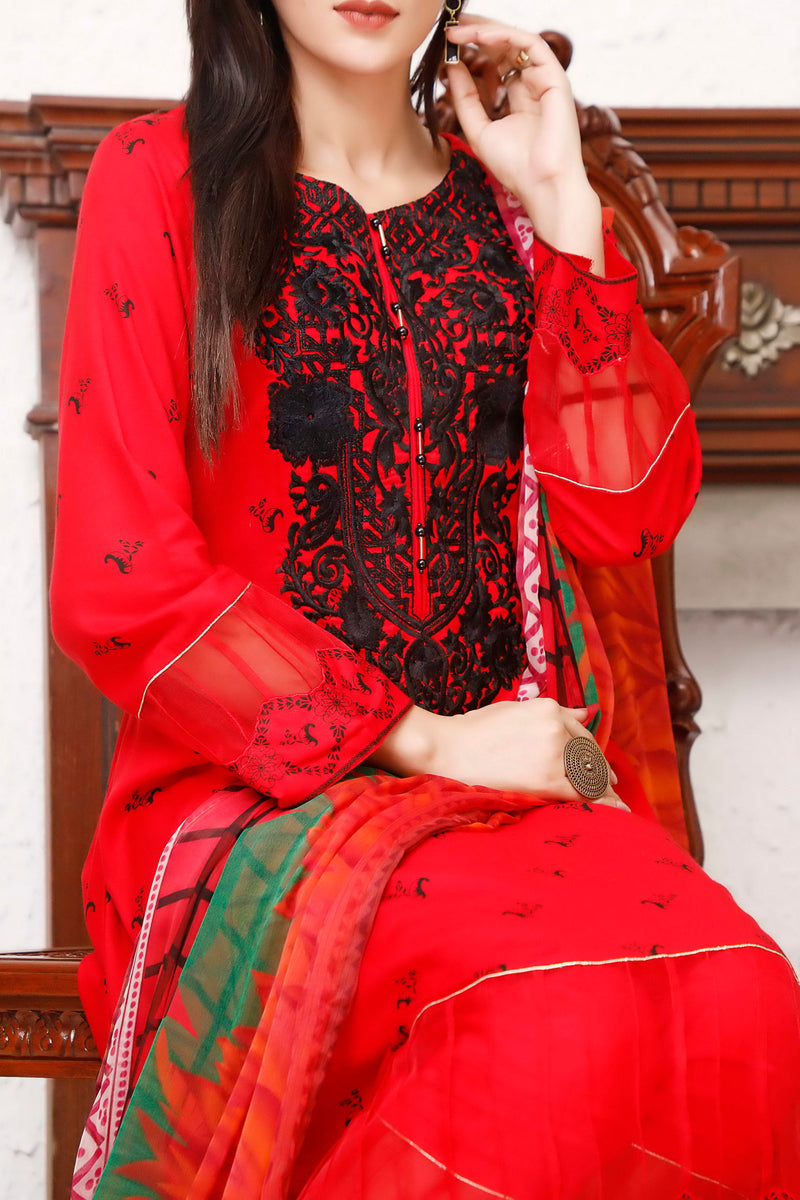 Ayesha Alishba Emb Linen Collection 20-20A