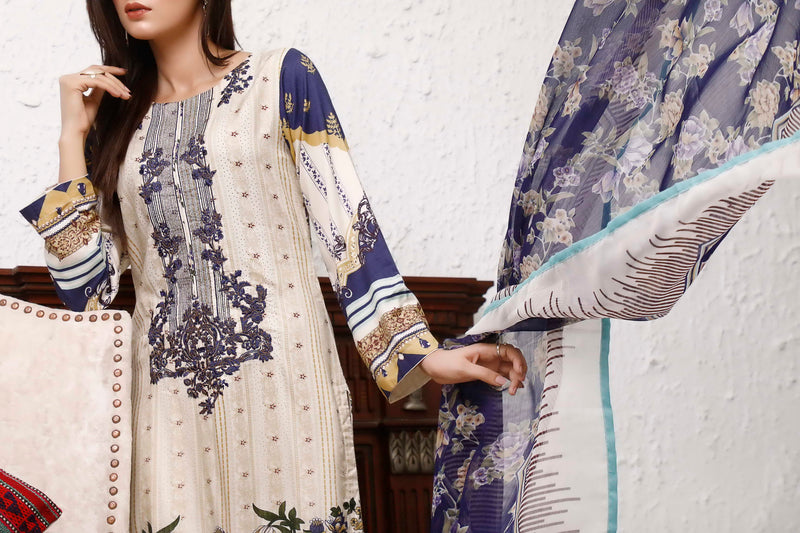 Ayesha Alishba Emb Linen Collection 20-09