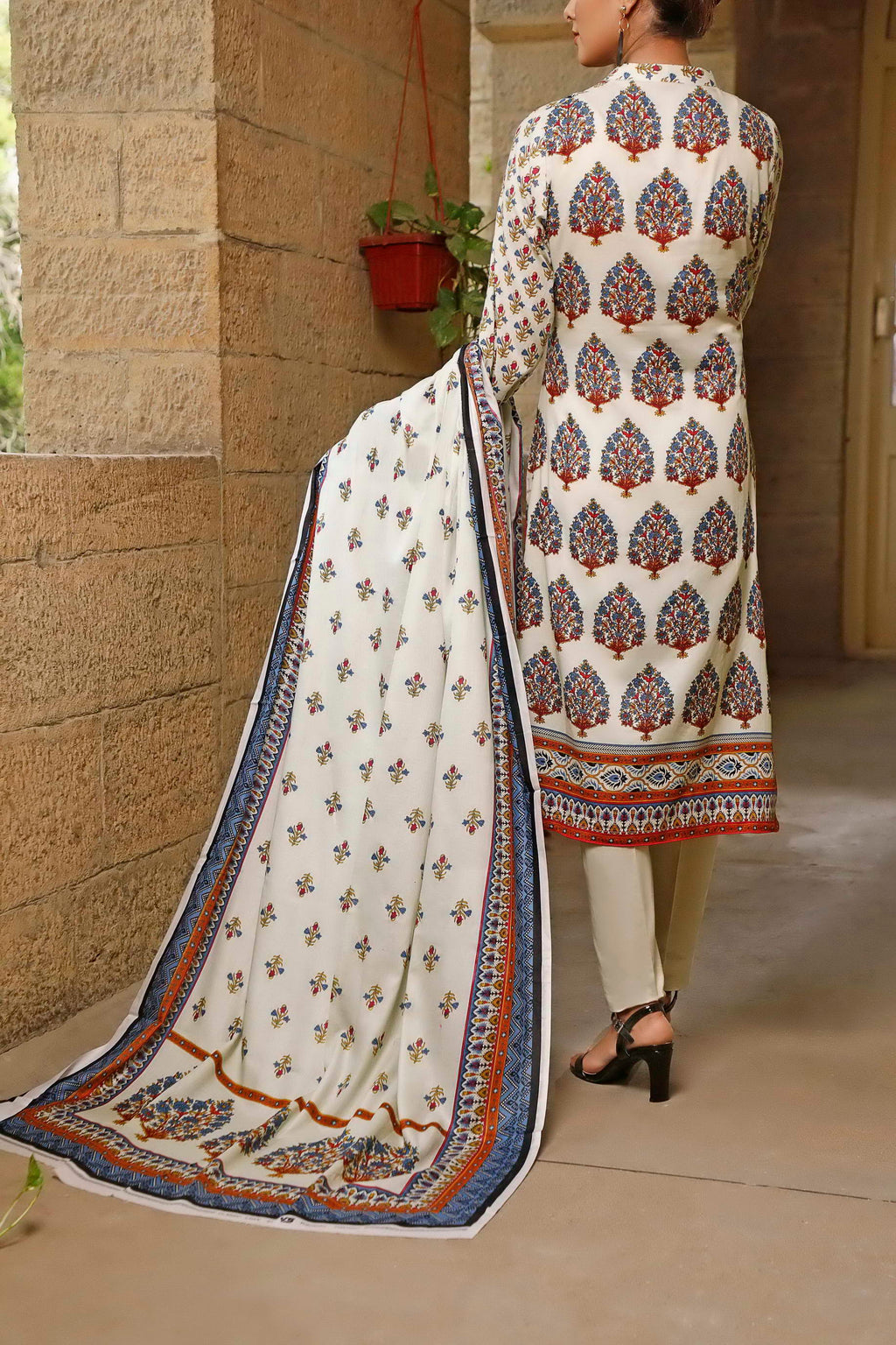 Classic Printed Lawn Collection 20-114A