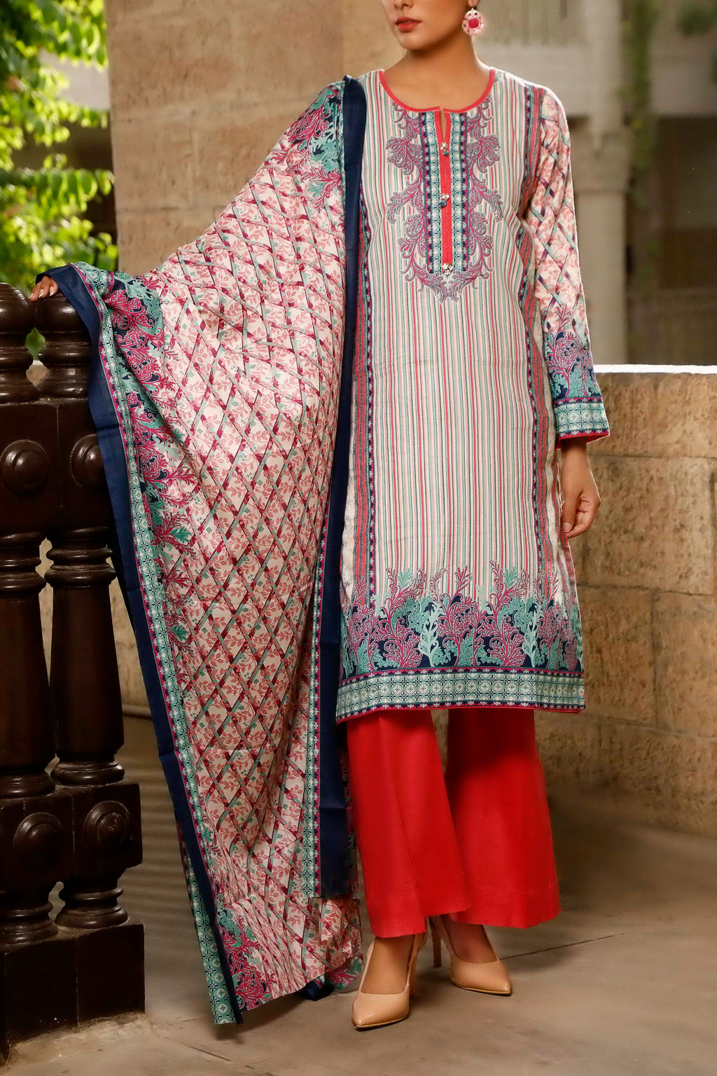 Classic Printed Lawn Collection 20-117A