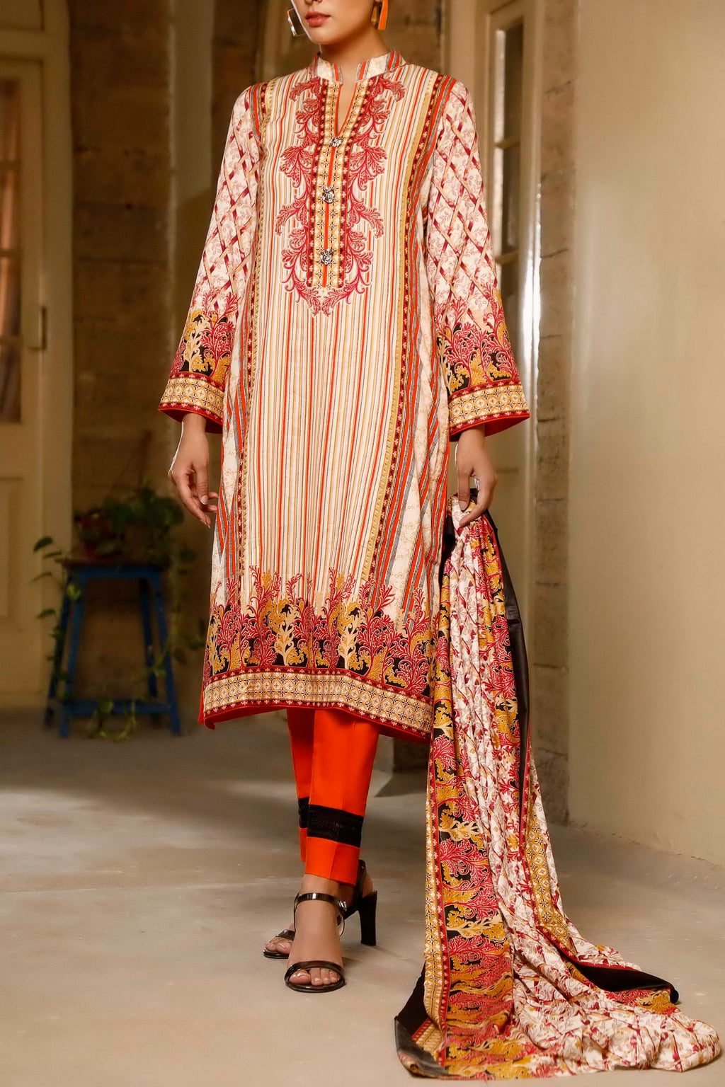 Classic Printed Lawn Collection 20-117B