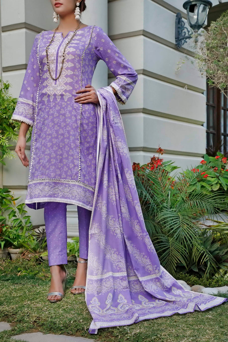 Daman Printed Lawn Collection 20-11B