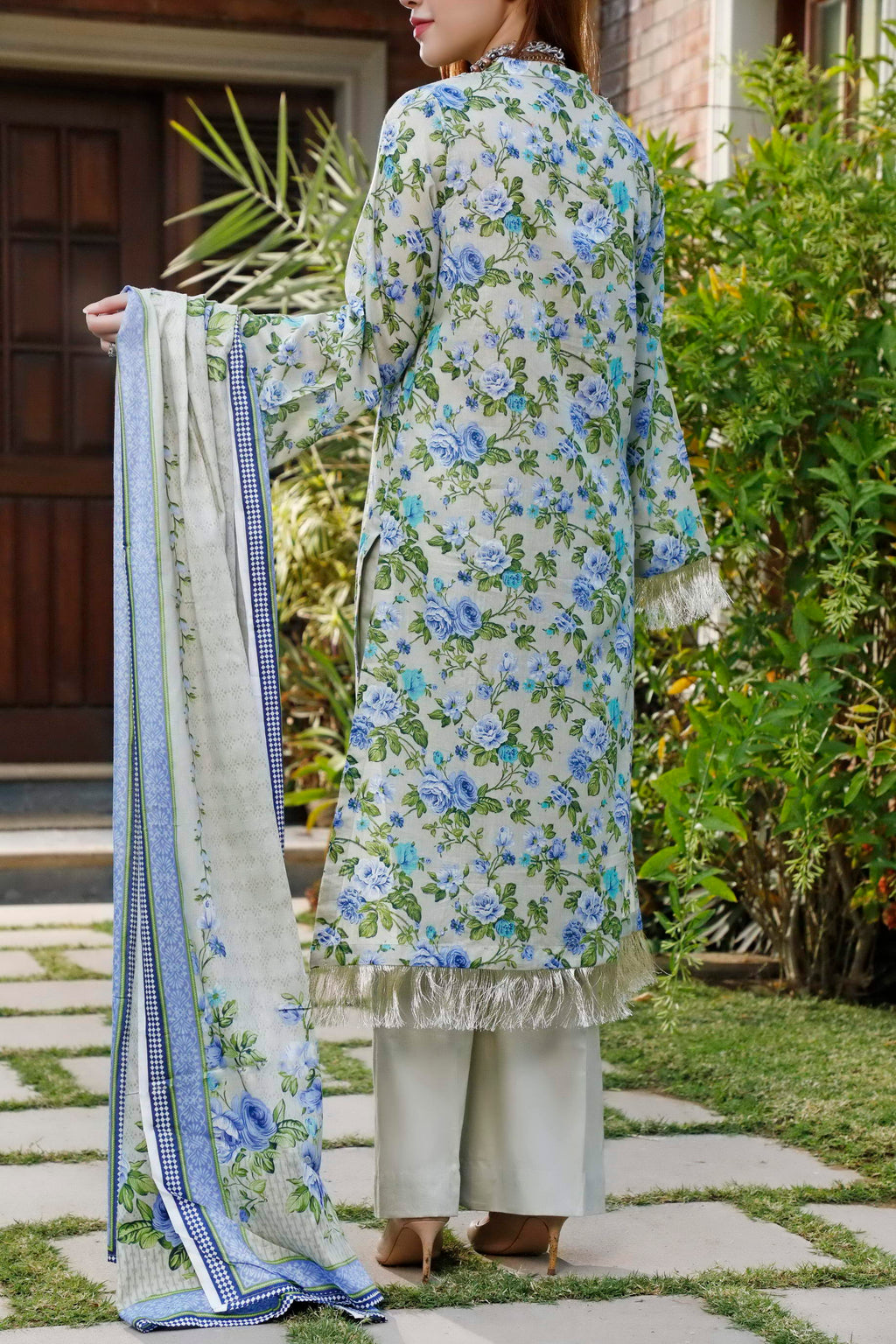 Daman Printed Lawn Collection 20-12A