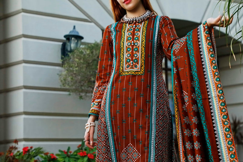 Daman Printed Lawn Collection 20-16A