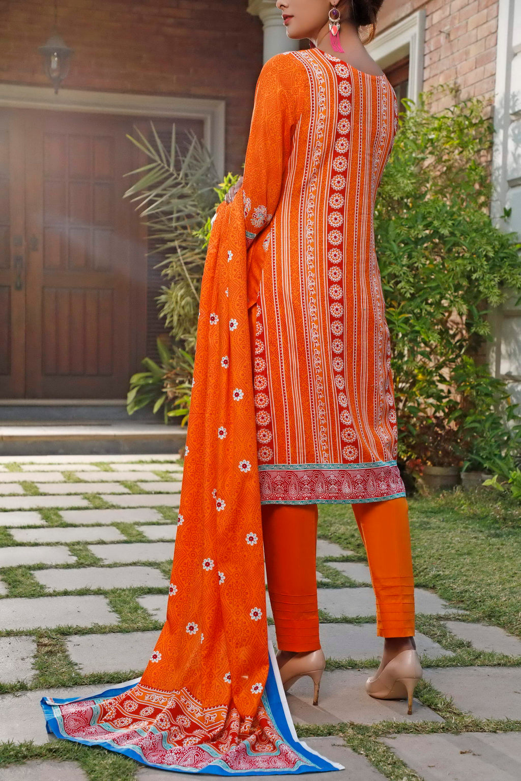 Daman Printed Lawn Collection 20-10A