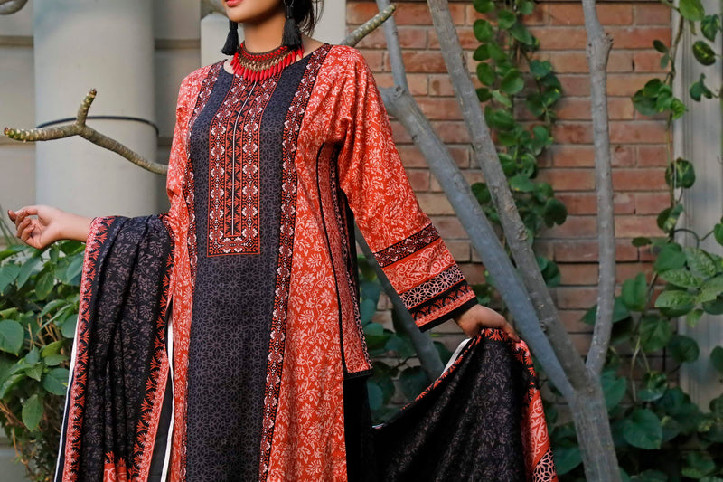 Daman Printed Lawn Collection 20-04A