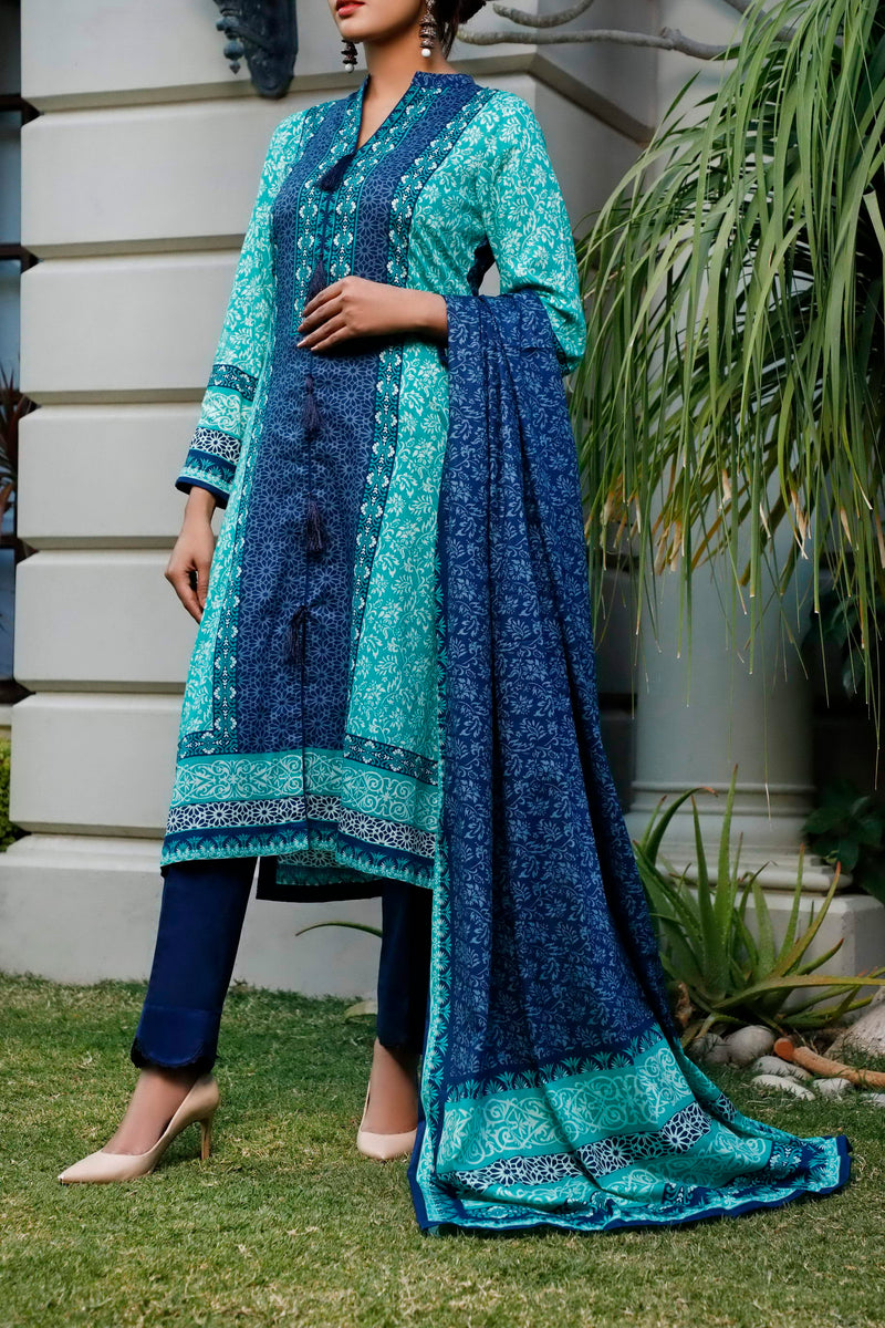 Daman Printed Lawn Collection 20-15B