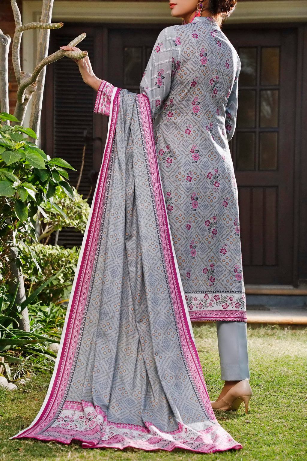 Daman Printed Lawn Collection 20-18A