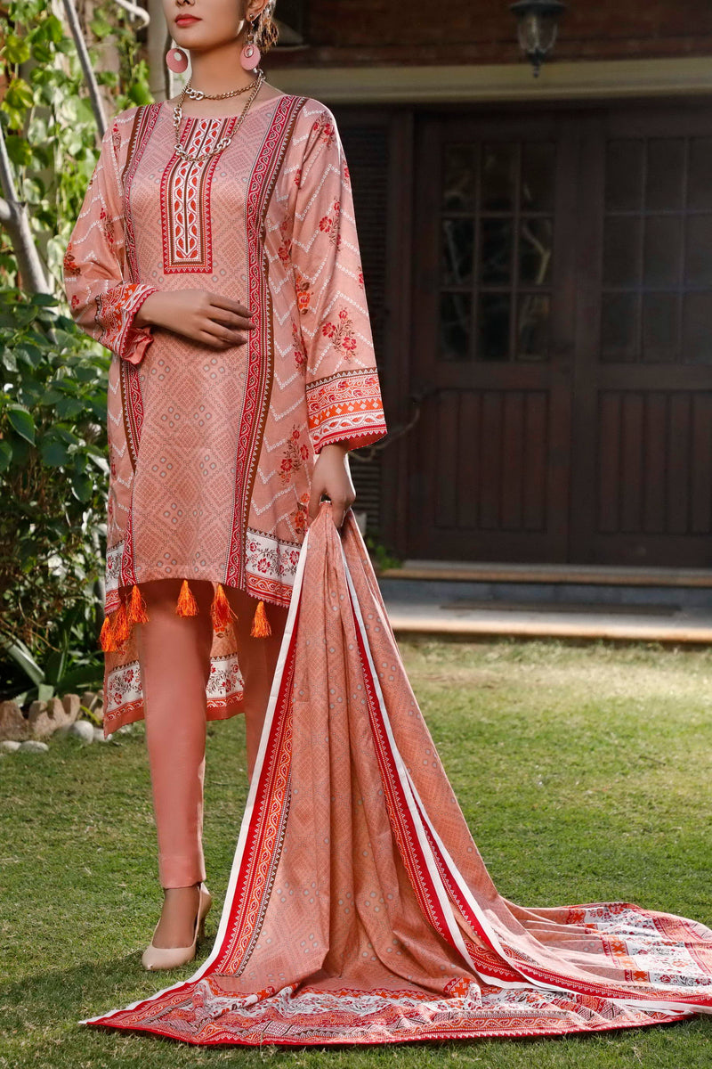 Daman Printed Lawn Collection 20-18B