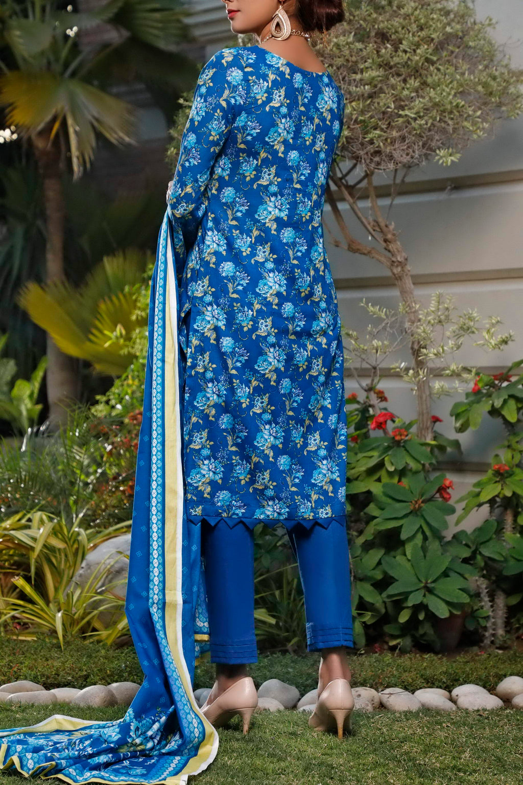 Daman Printed Lawn Collection 20-07B