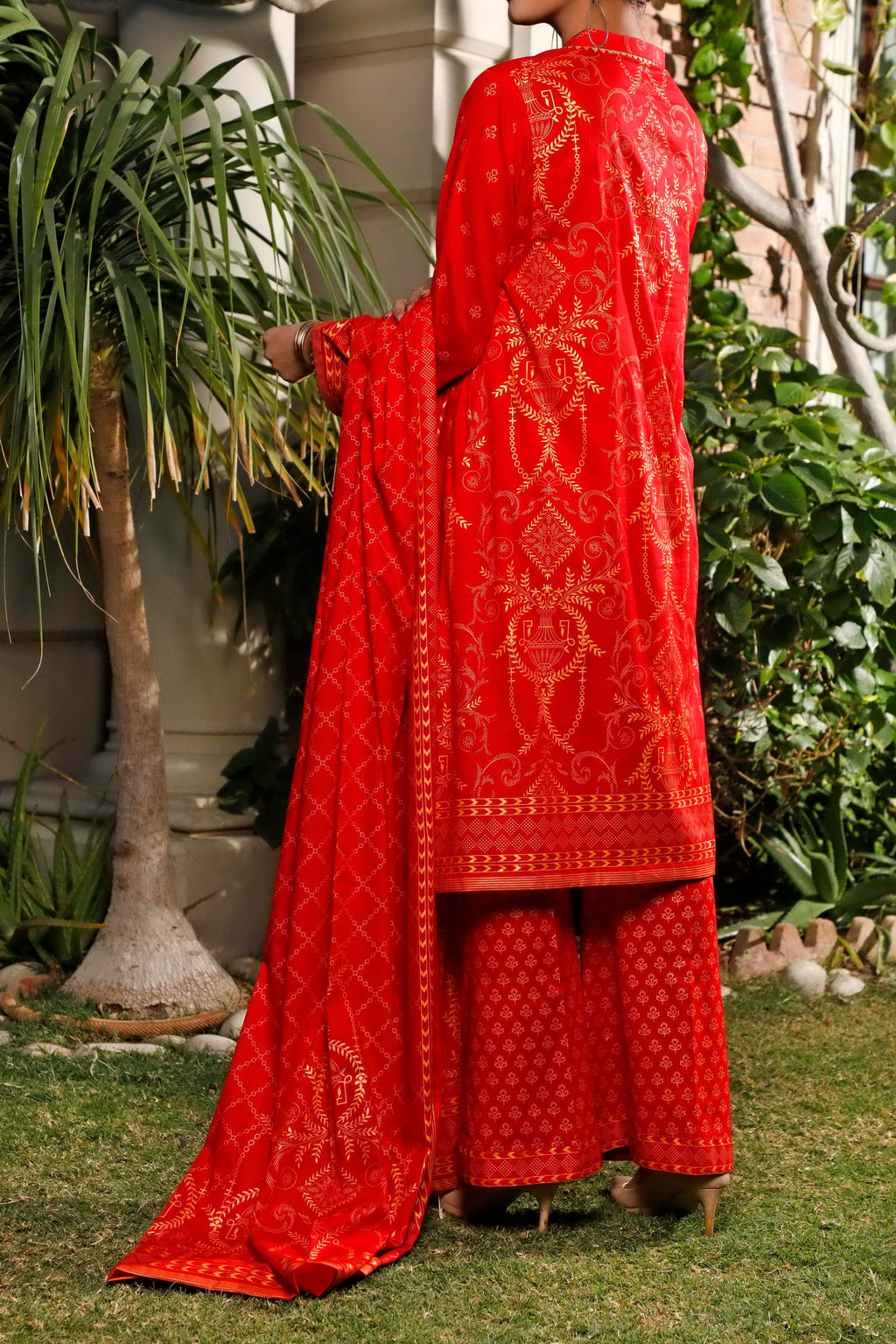 Daman Printed Lawn Collection 20-20B