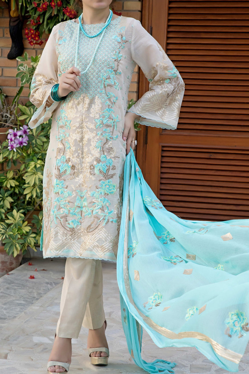 Royal Emb Lawn Collection 19-005-A