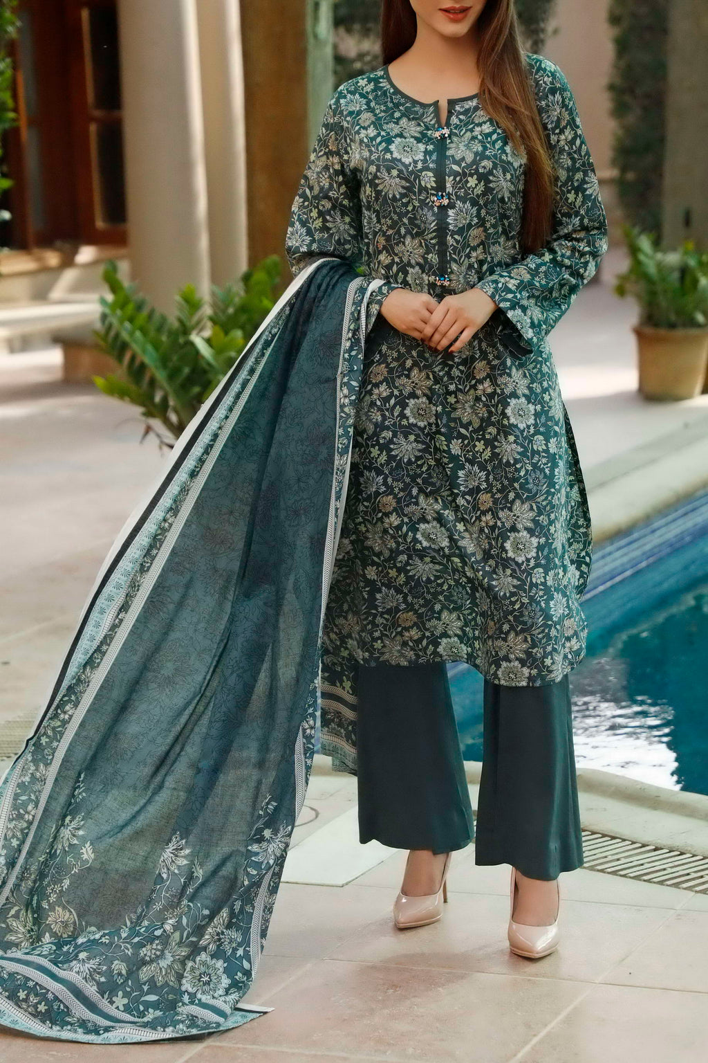 Classic Printed Lawn Collection 20-109A