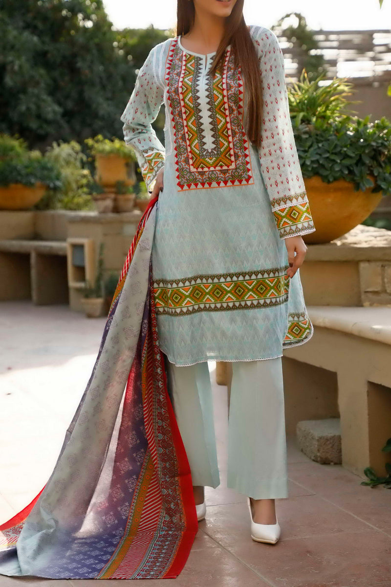 Classic Printed Lawn Collection 20-108B