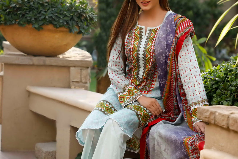 Classic Printed Lawn Collection 20-103B