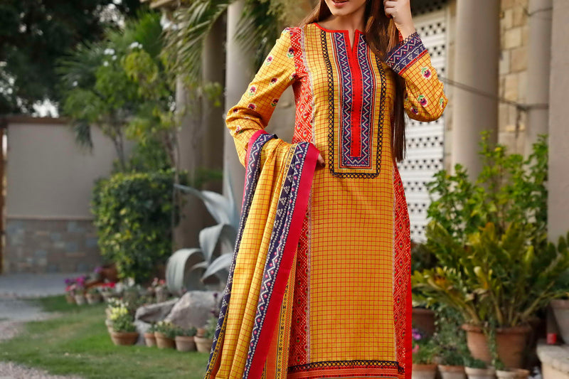 Classic Printed Lawn Collection 20-101B