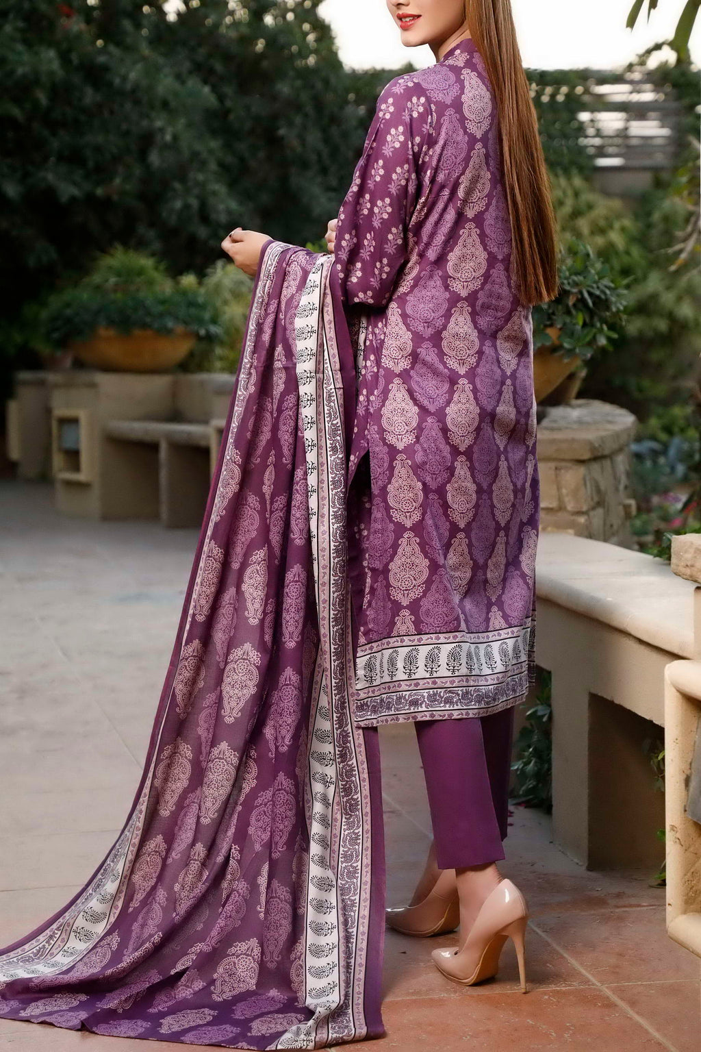 Classic Printed Lawn Collection 20-110B