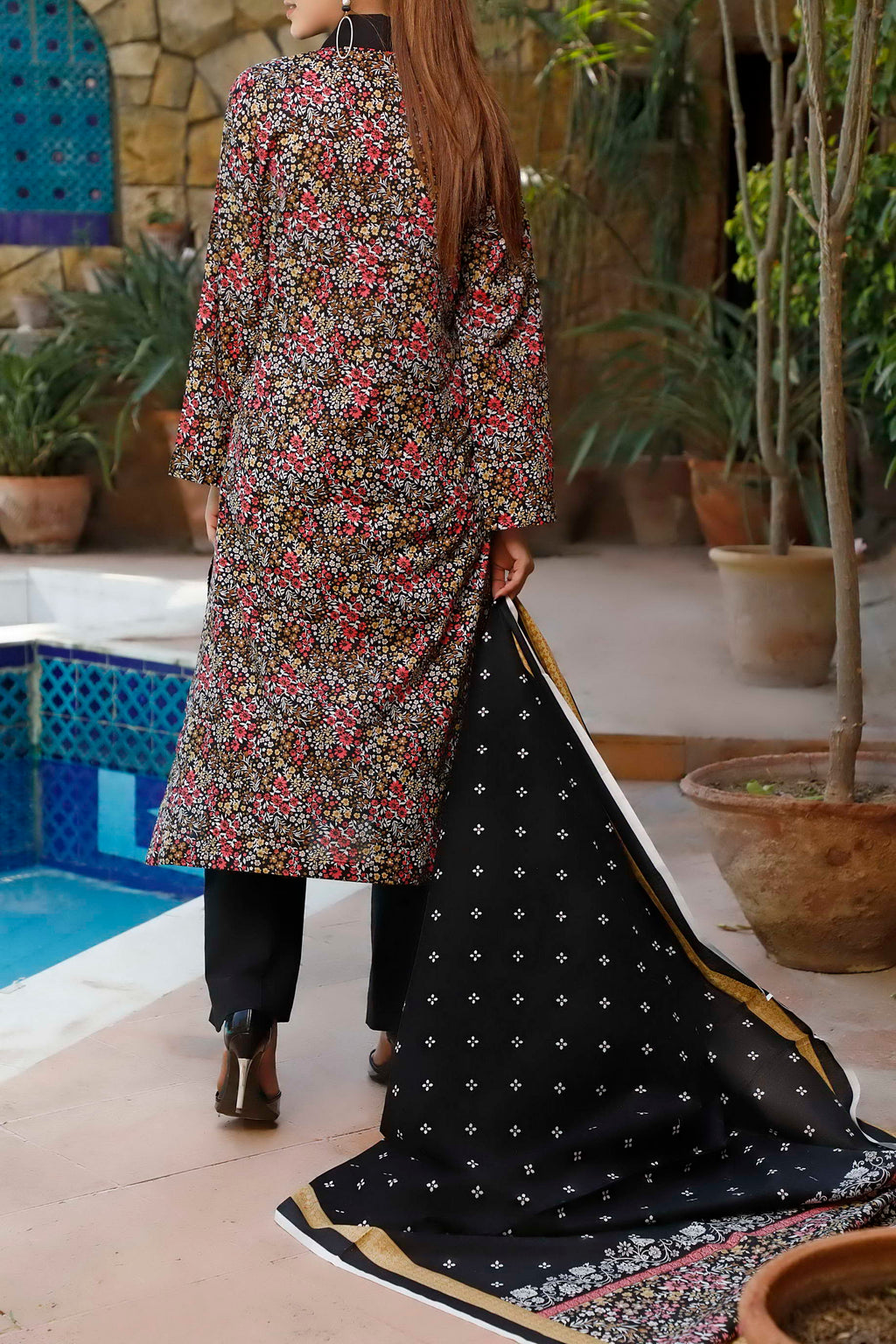 Daman Printed Lawn Collection 20-02A