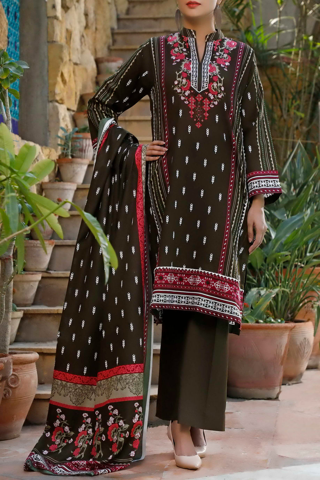 Daman Printed Lawn Collection 20-13A