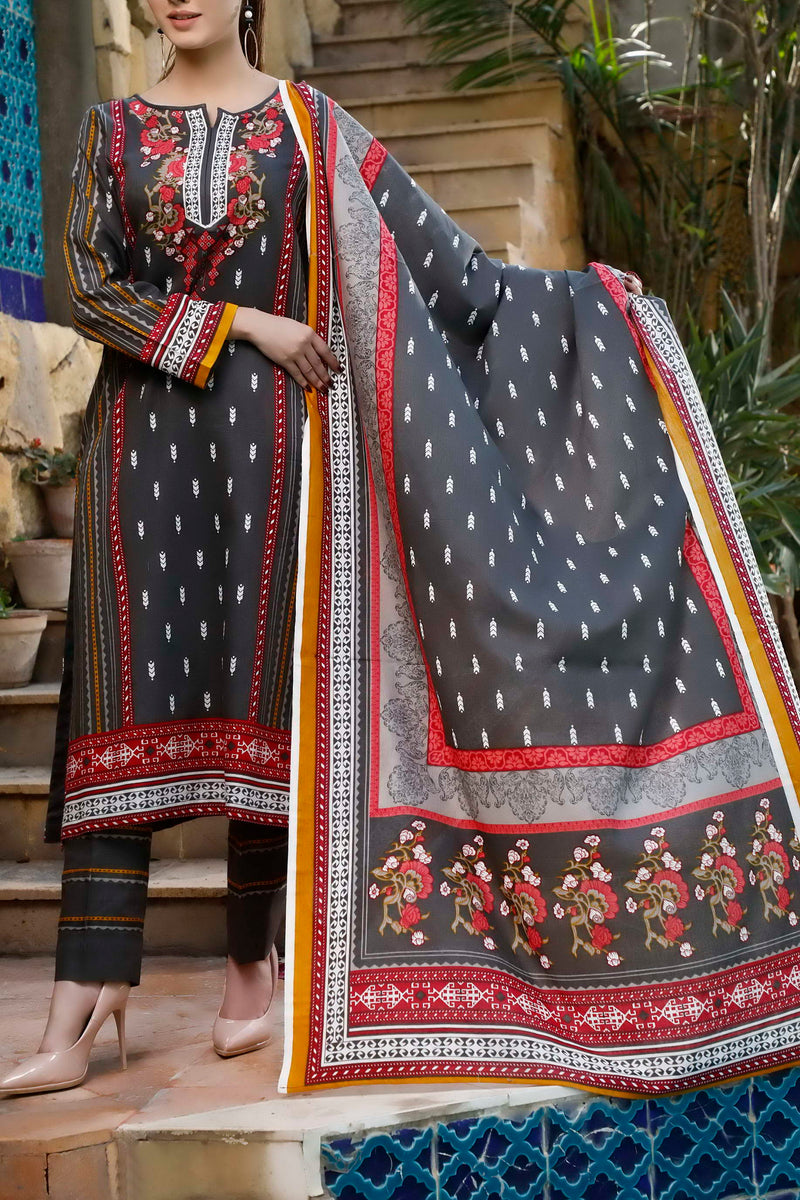 Daman Printed Lawn Collection 20-13B