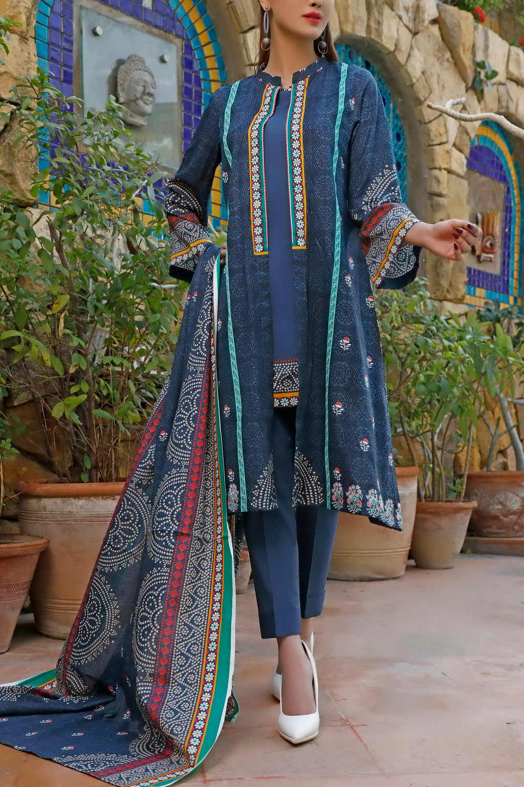 Daman Printed Lawn Collection 20-08B