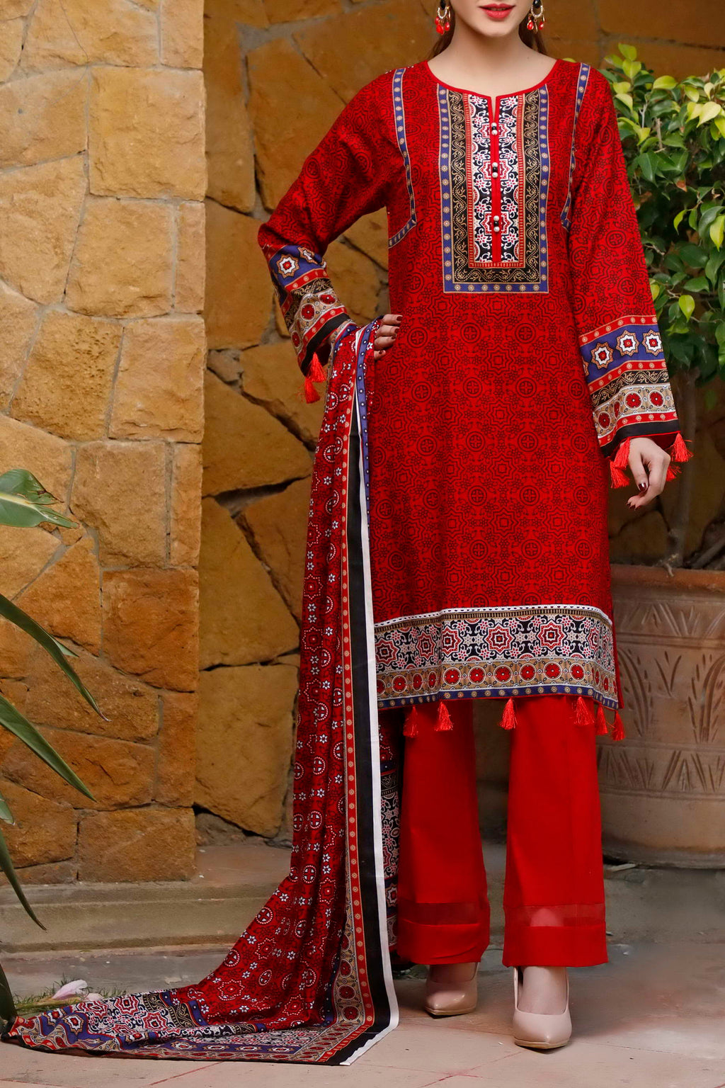Daman Printed Lawn Collection 20-14B