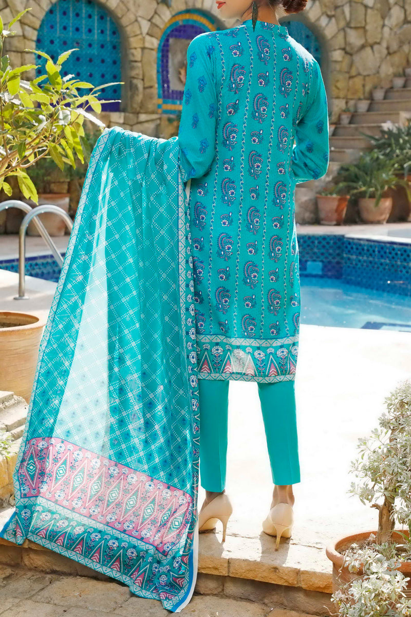 Daman Printed Lawn Collection 20-17B