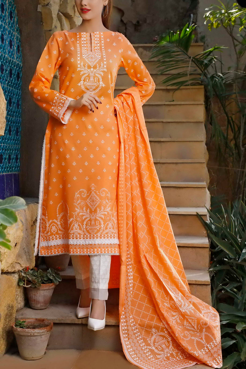 Classic Printed Lawn Collection 20-104A