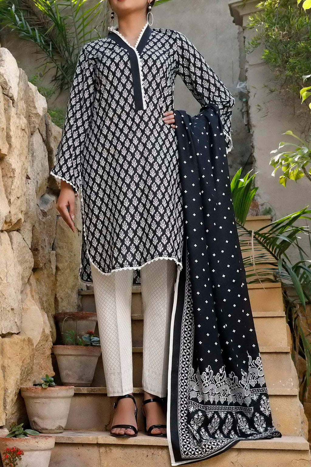 Daman Printed Lawn Collection 20-03B