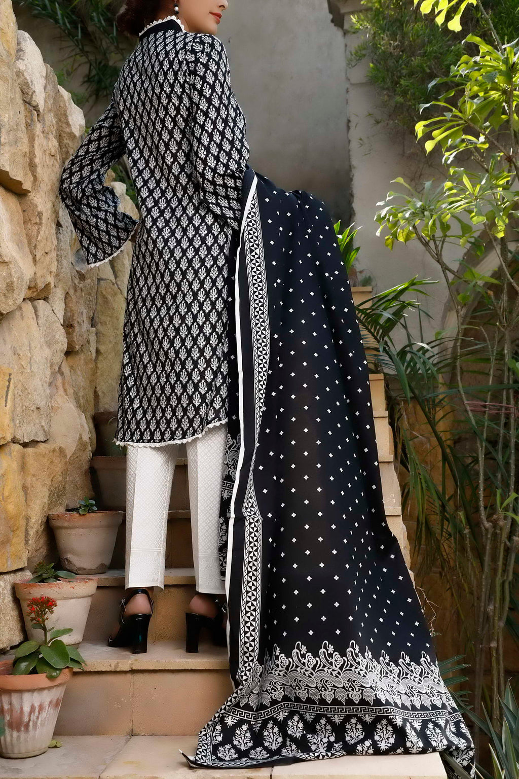 Daman Printed Lawn Collection 20-03B(Restocked)