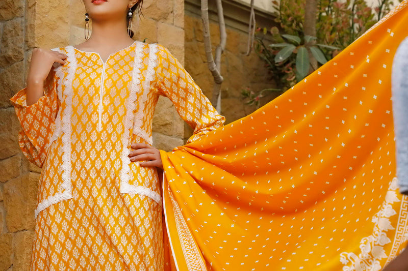 Daman Printed Lawn Collection 20-03A